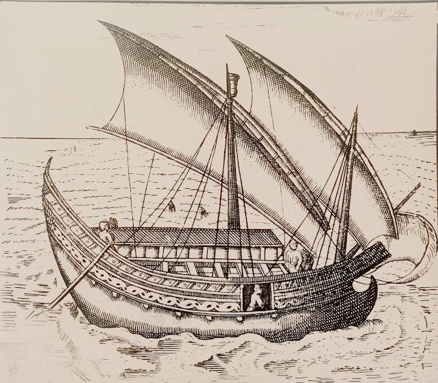 Kapal jong, perahu jong, perahu asli indonesia