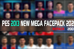 New Mega Facepack 2021 (200 Faces) - PES 2013