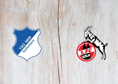 Hoffenheim vs Köln -Highlights 24 January 2021