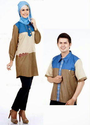 Model Baju Muslim Pesta Sarimbit Terbaru