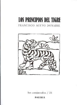 Los principios del tigre, presentación, Francisco Acuyo