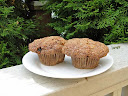 Morning Glory Muffins with carrots, pineapple and coconut