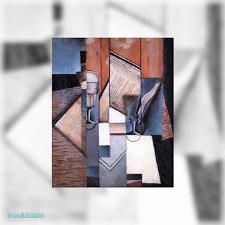 Πίνακας ζωγραφικής Juan Gris (The book, Το βιβλίο)