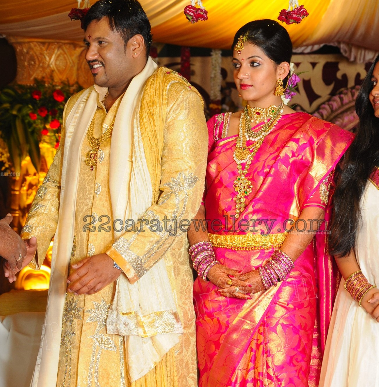 Param Madireddy Wife In Gorgeous Wedding Jewelry
