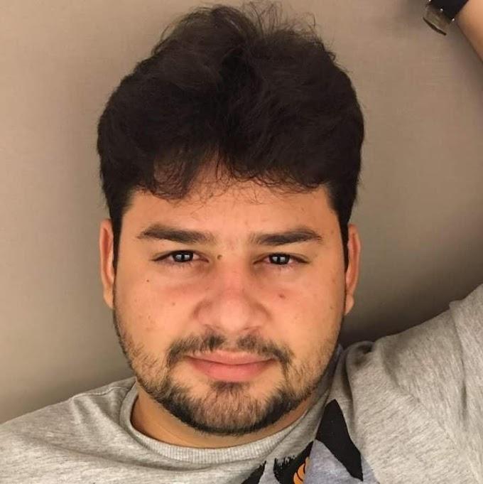 LUTO: Aos 30 anos, elesbonense Manoel Modesto Santos morre em decorrência da Covid-19, em Teresina.