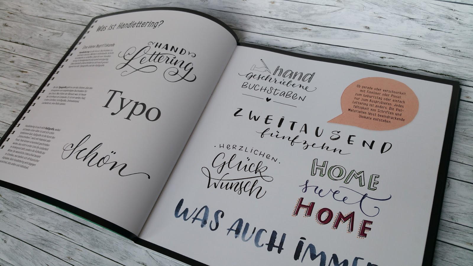 Handlettering Buch