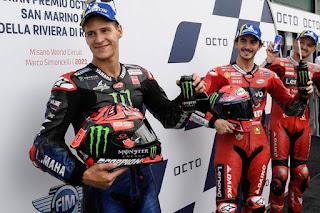 Hasil MotoGP Misano 2021, Back to Back Bagnaia !!!
