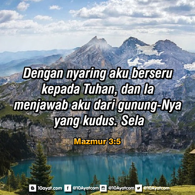 Mazmur 3:5