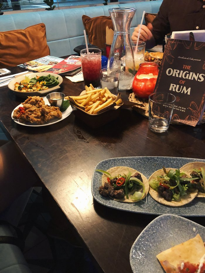 A review of Revolucion de Cuba, a restaurant in Southampton.