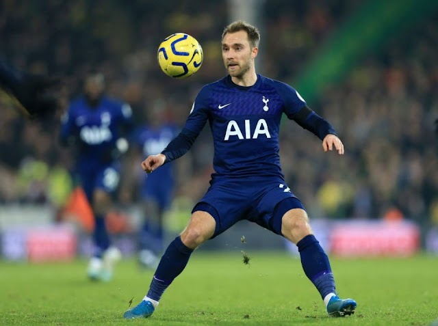 Inter now prioritize signing Spurs Eriksen over Vidal