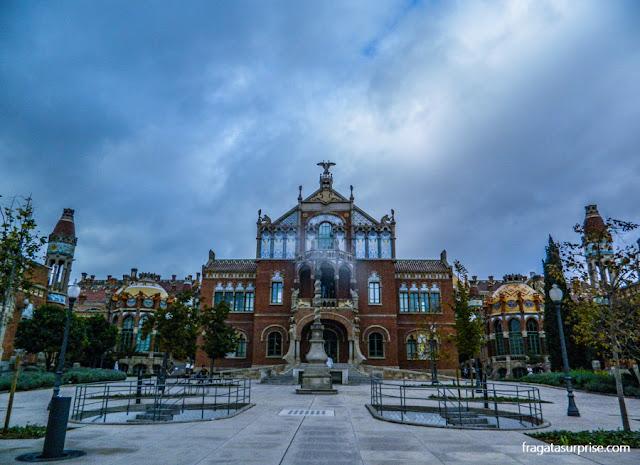 Pavilhão de Operações do Hospital Sant Pau, Barcelona
