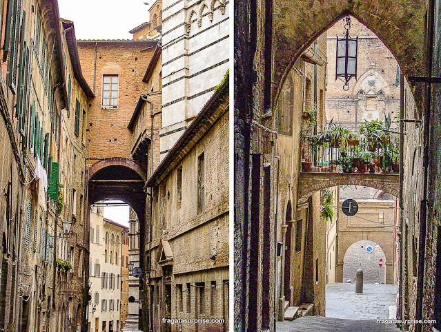 Ghetto de Siena, Itália