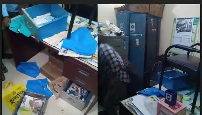 বাঁশখালী উপজেলা হাসপাতালে দুধর্ষ চুরি