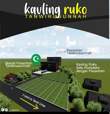 Tanah Kavling Ruko Tanwirussunnah