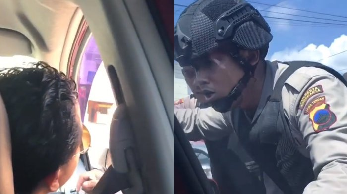 Pengendara Cuma Tanya Jalan, Polisi Malah Membentak