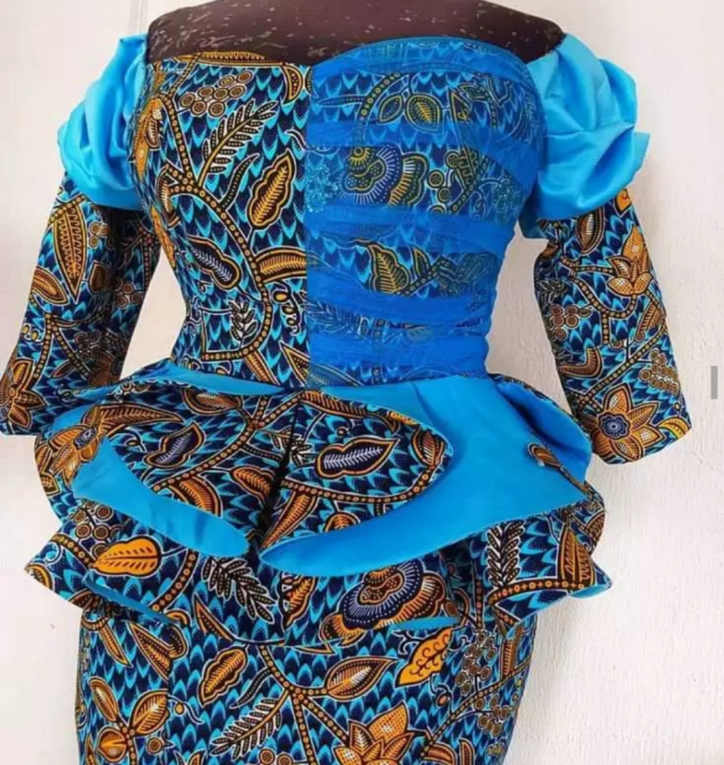 LADIES! Rush To Select Your Own Latest Trending New Ankara Lace Styles Before 25 December