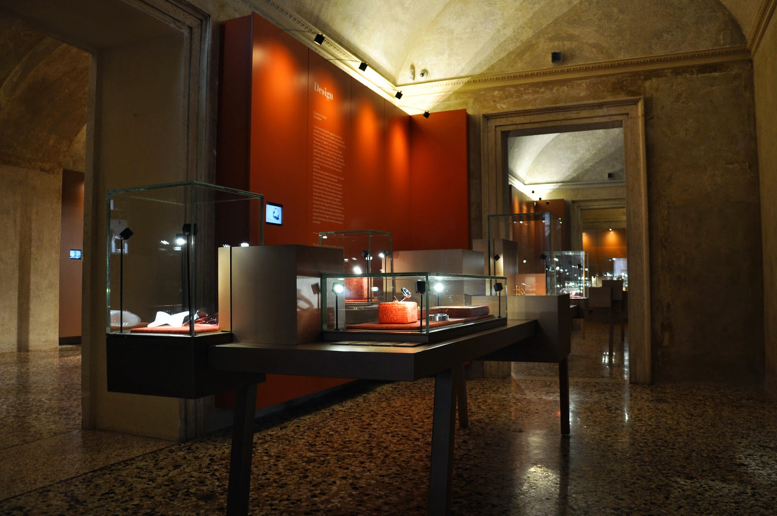 The Design room in the Museum of the Jewellery in Vicenza