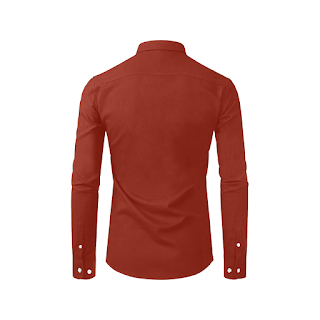Gomagear Fit Dark Red Long Sleeve Shirt