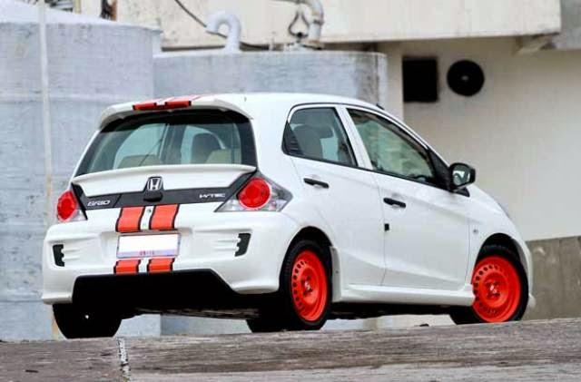 Modifikasi Honda Brio Standard