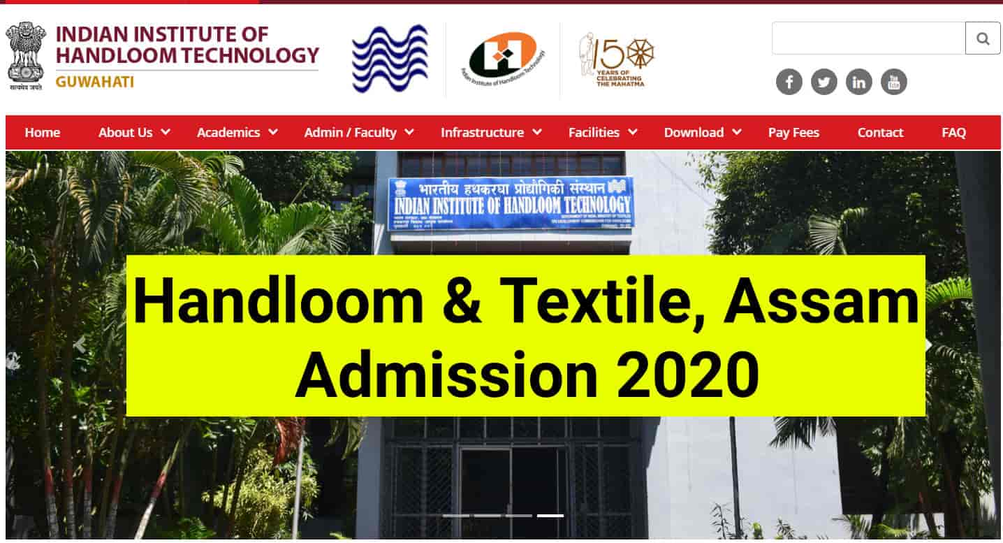 Handloom And Textiles, Assam 3 years Diploma Course Admission 2020