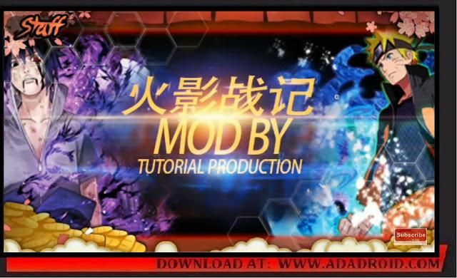 Download Naruto Senki Hokage Mod by Tutorial Production Apk