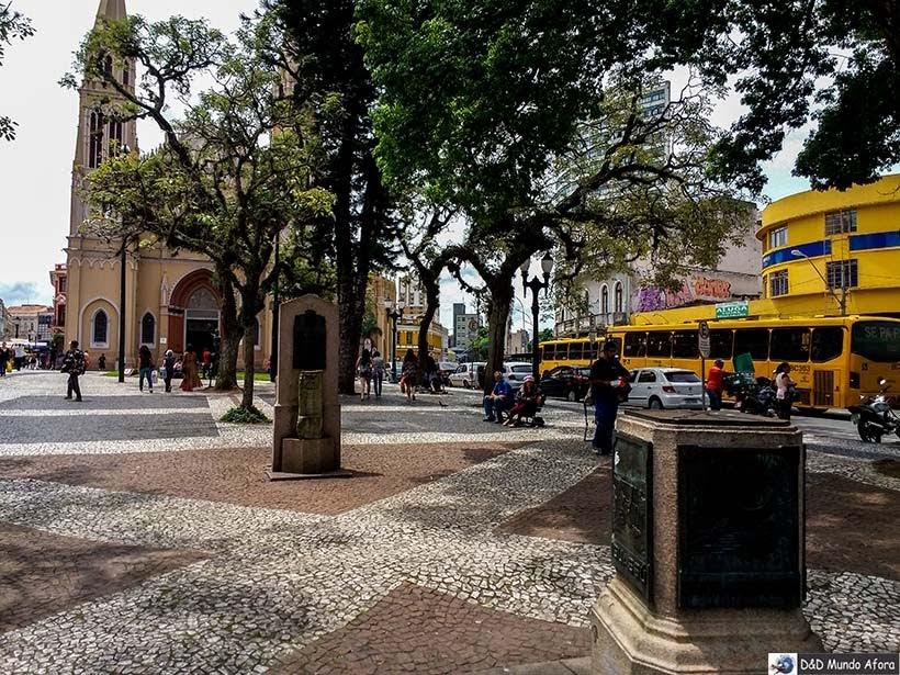 Praça Tiradentes - O que fazer em Curitiba, Paraná