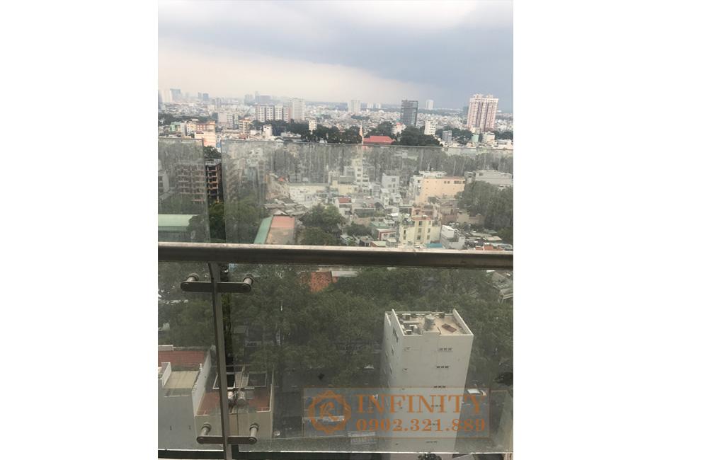 Bán căn hộ trống nội thất tại The EverRich Infinity Q5 - view thành phố