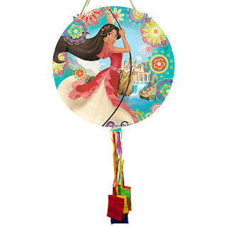 Elena of Avalor party ideas-pull string pinata