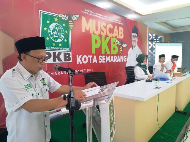 Gus Sholah-Mahsun Kembali Pimpin DPC PKB Kota Semarang