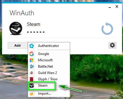 Menambahkan Akun Steam
