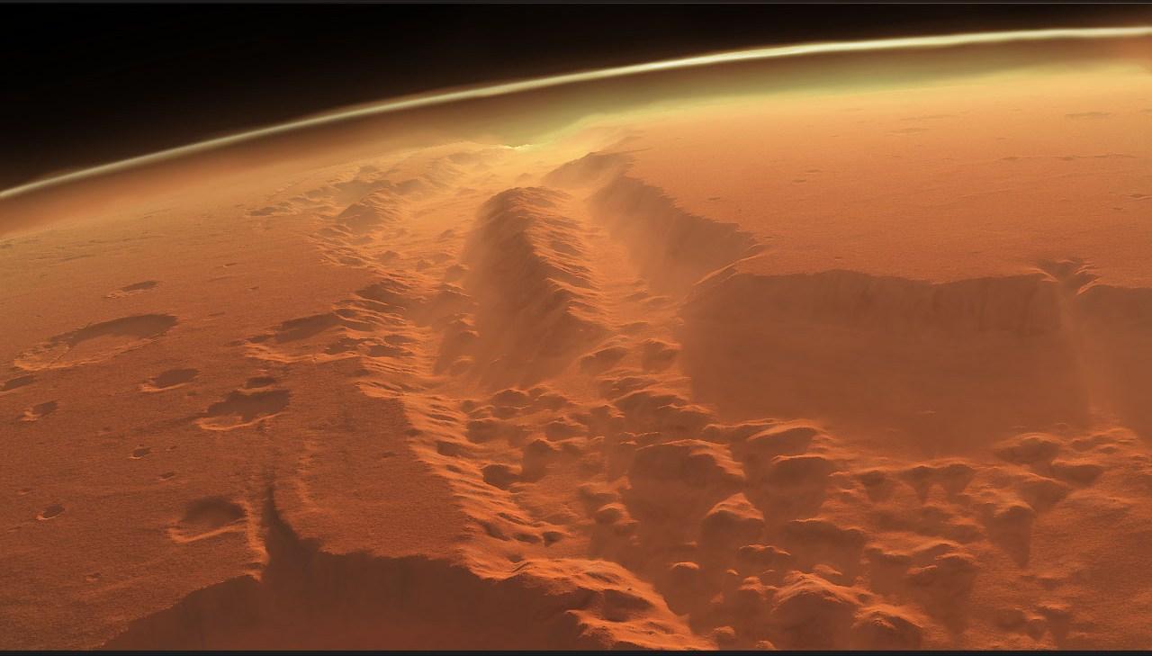 Dream Walker: Valles Marineris | Gigantic valley of Mars