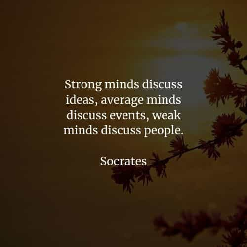 Famous quotes and sayings by Socrates