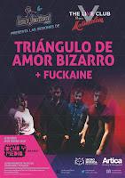 Concierto de Triángulo de amor bizarro y Fuckaine en Ochoymedio
