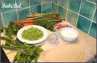 Petits légumes de printemps à ma façon.