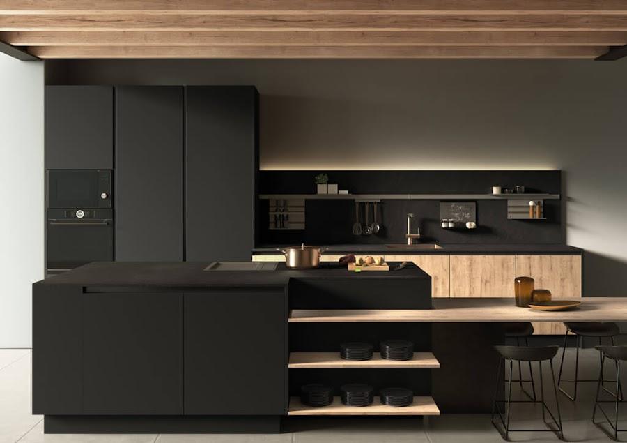 cocina-acabado-supermate-Tmatt-Nero-Roble-Nudos2