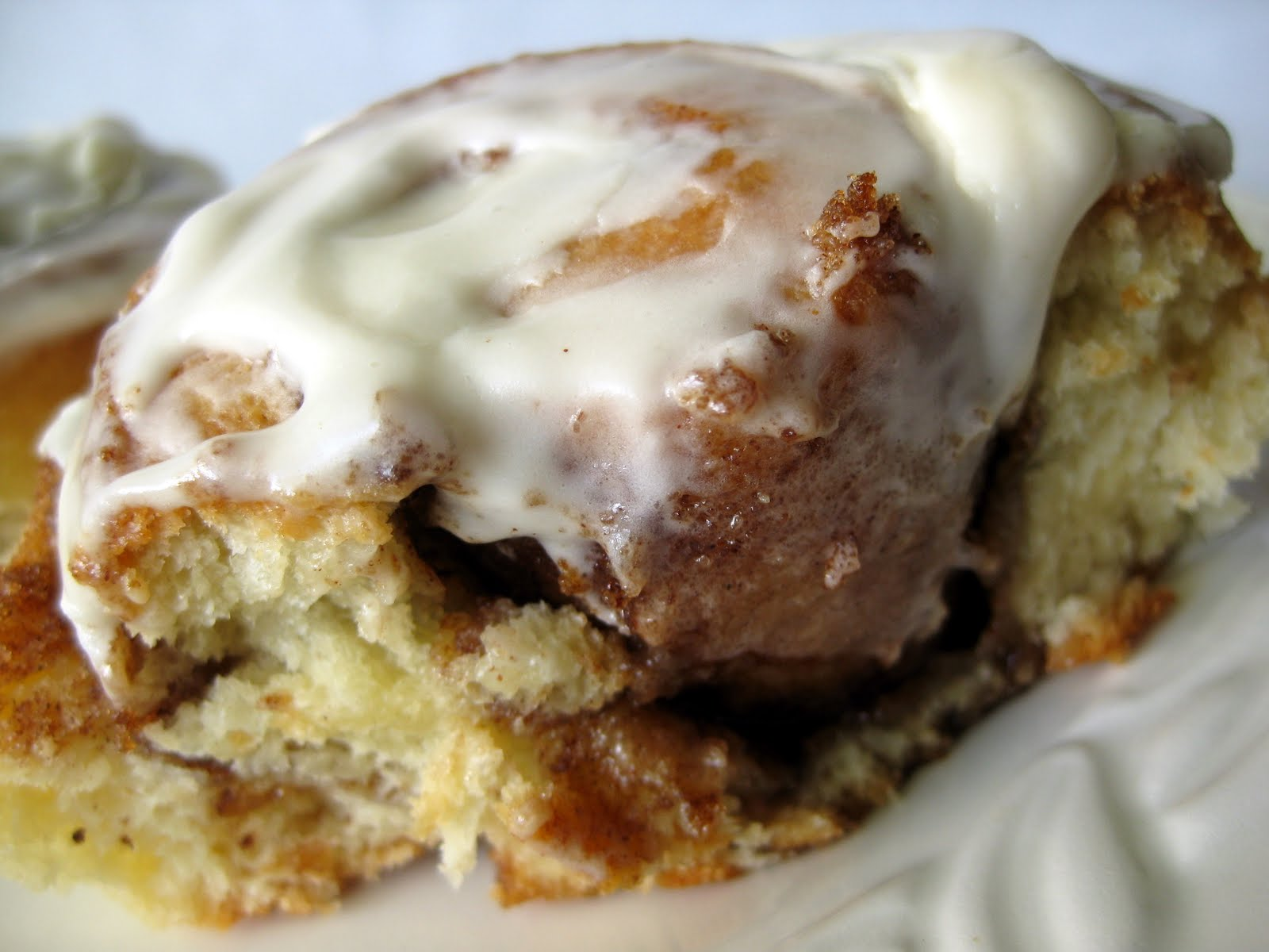 In The Long Kitchen Ultimate Cinnamon Buns