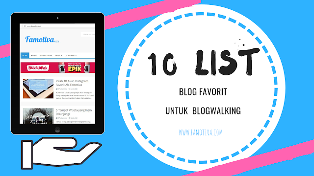 10 List Blog Favorit untuk Blogwalking