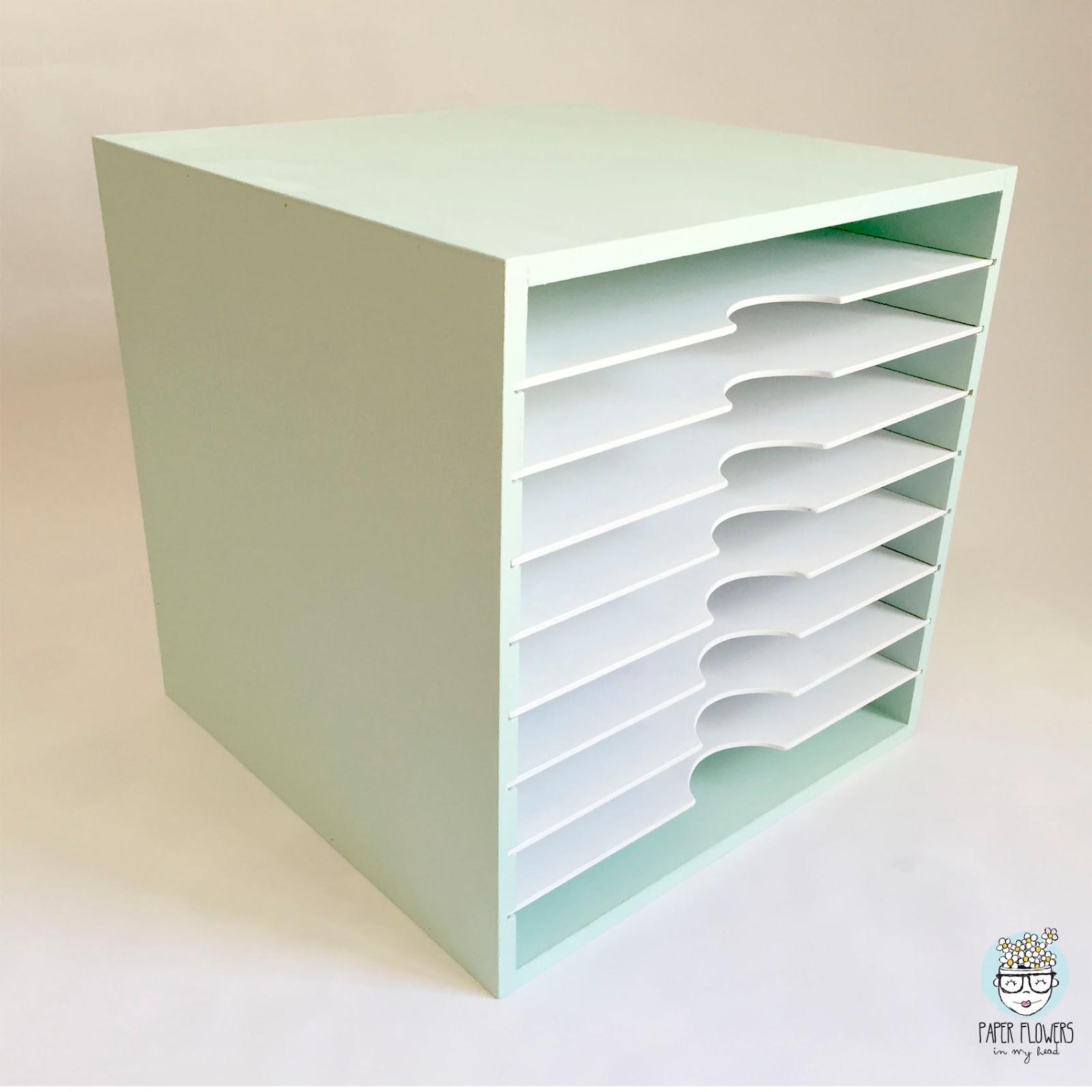 Mi mueble para papel de scrapbooking pintado con chalk - Papel decorativo para muebles ...