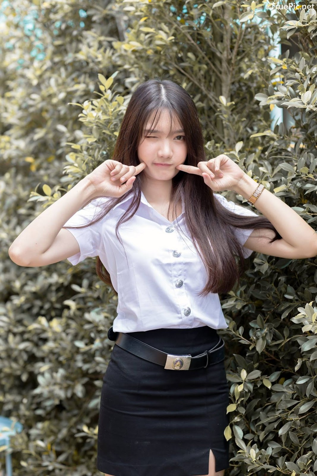 Image-Thailand-Cute-Model-Creammy-Chanama-Concept-Innocent-Student-Girl-TruePic.net- Picture-8