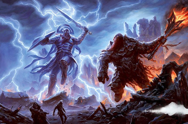Reseña D&D - El Trueno del Rey de la Tormenta - Gigantes