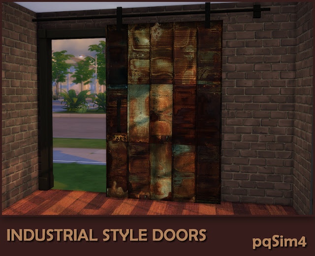 Industrial Style Decor Doors. Puerta 6