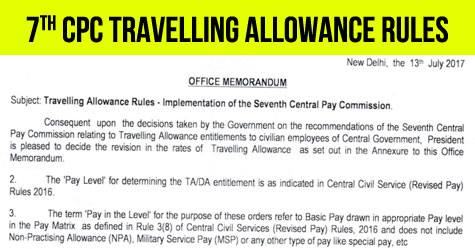 7thCPC-Travelling-allowance-rules