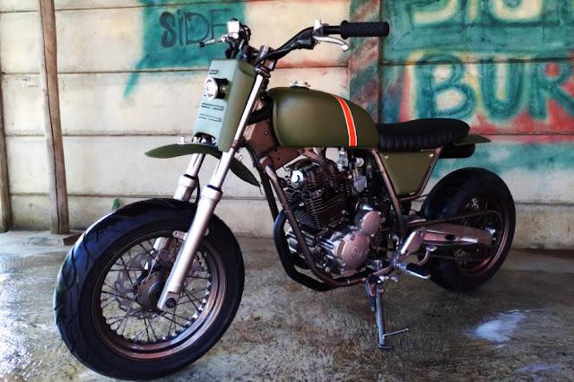 Yamaha Scorpio 225cc The Laleur Hejo 6