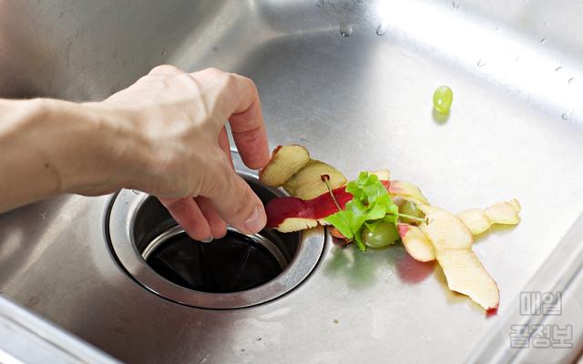 과일껍질, 싱크대 개수대 막혔을때, 청소, 팁주마, 매일꿀정보