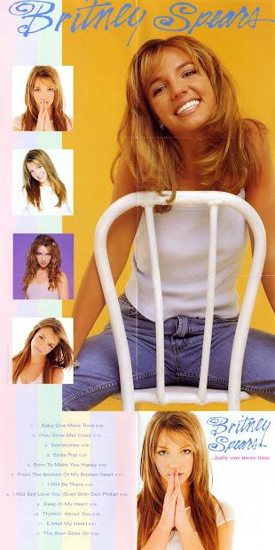 Bracau 27 Encarte Britney Spears - .baby Time
