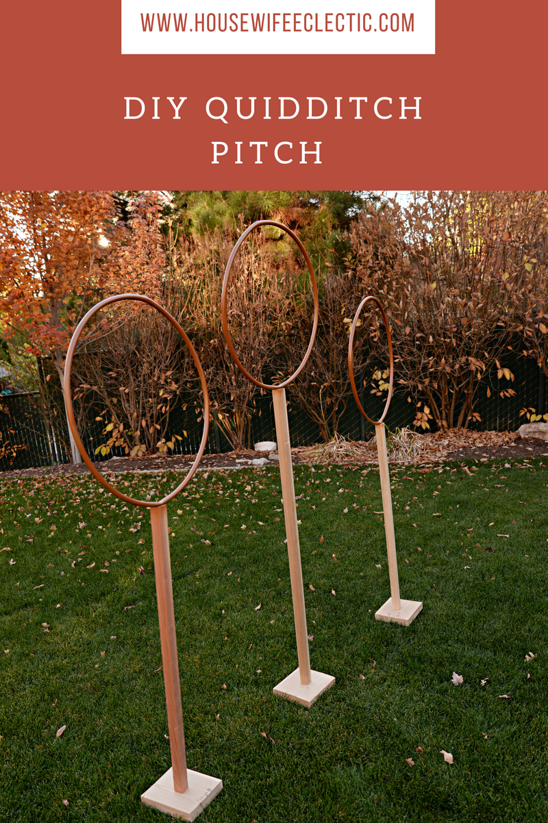 DIY Quidditch Pitch - Housewife Eclectic