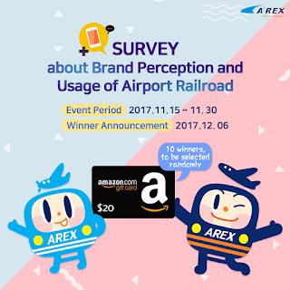 Korea Airport Railroad survey