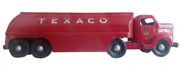 Otaco toy's Texaco tractor trailer.