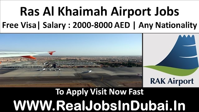 Ras Al Khaimah Airport Jobs In UAE 2021