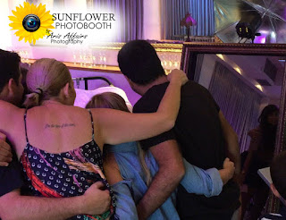 The Sunflower Photobooth by Aris Affairs Photography can make your Prescott event more memorable.